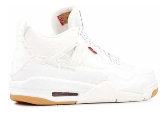 Nike Air Jordan 4 X Levis (blanco)