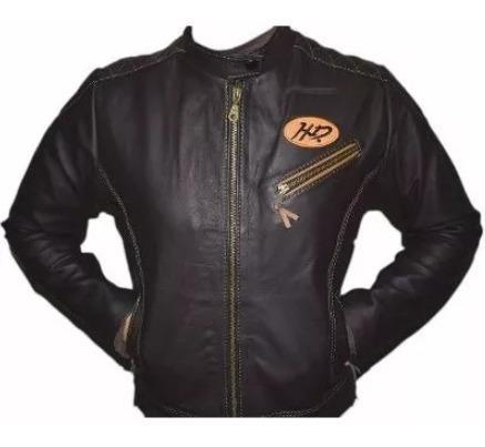Jaqueta Feminina Harley Couro Legítimo