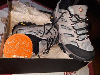 Zapatillas Merrer Trekking Moab 2 Mid Waterprrof Montaña