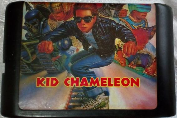 Cartucho Mega Drive Jogo Fita - Kid Chameleon - Paralelo