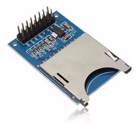 Módulo Mini Sd Card Shield Leitor De Cartão Arduino Pic