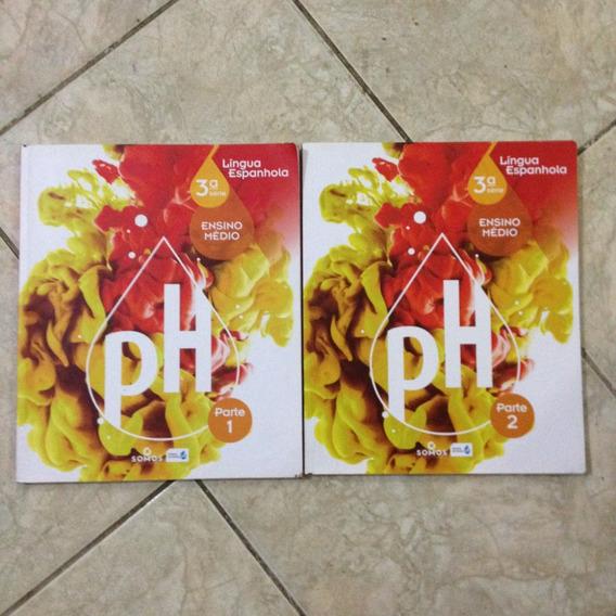Livro Ph Língua Espanhola 3ª Ed Ensino Médio Parte 1 E 2 C2
