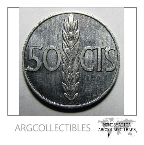 España Moneda Caudillo Francisco Franco 50 Centimos 1966