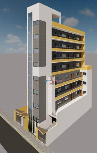 Apartamento Com 2 Dormitórios À Venda, 40 M² Por R$ 225.000,00 - Penha - São Paulo/sp - Ap2750