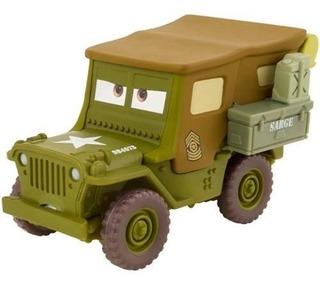 Sargento Carrinho De Metal Disney Pixar Carros 3 Jeep