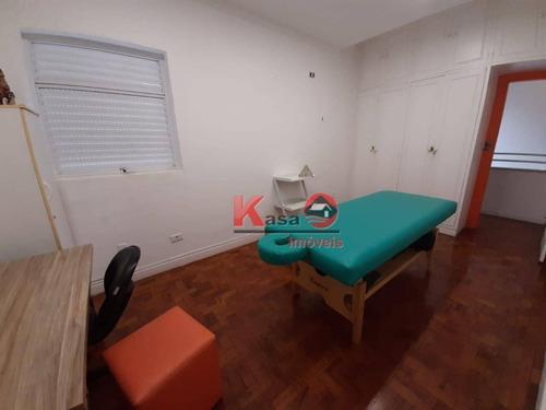 Sala Para Alugar, 60 M² Por R$ 3.500,00/mês - Boqueirão - Santos/sp - Sa0201