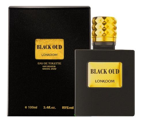 Black Oud Lonkoom - Perfume Masculino- Edt- 100ml
