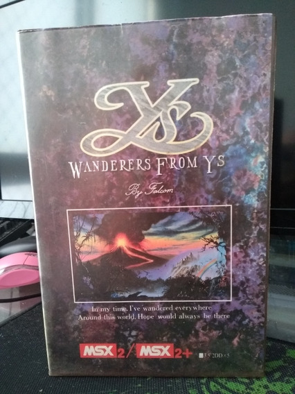 Wanderers From Ys Iii Msx2