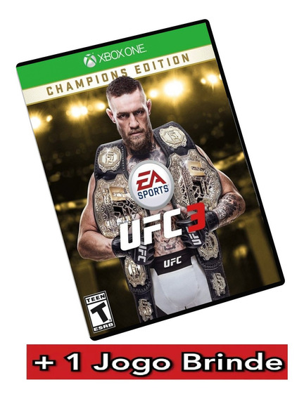 Ufc 3 Deluxe Edition Xbox One Midia Digital Ufc3 + Brinde