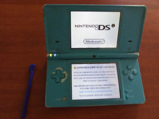 Nintendo Dsi Color Azul + R4 + Cargador Incluido