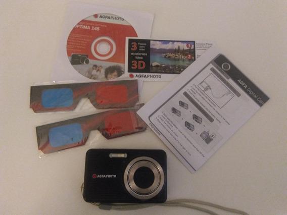 Câmera Digital Foto/filmadora 3d 14,1 Mp (5x Zoom)
