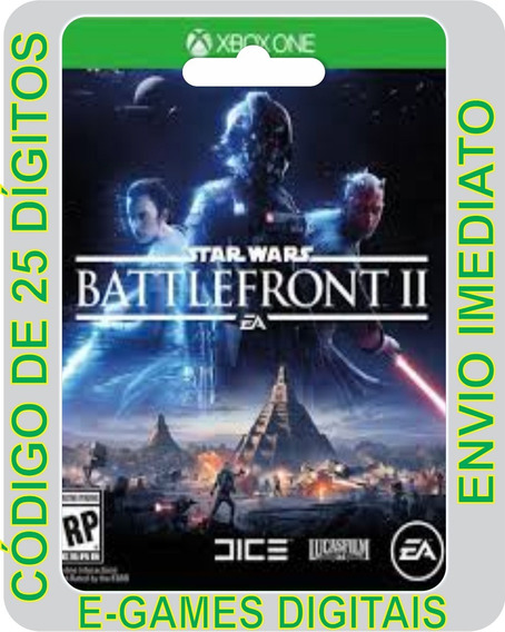 Star Wars Battlefront Ii 2 - Xbox One Código 25 Dígitos