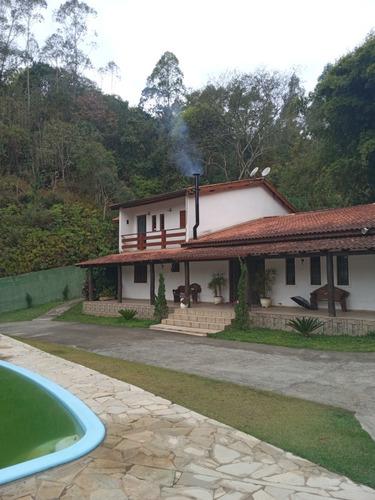 Imagem 1 de 7 de Chácara + Casa De Hospedes