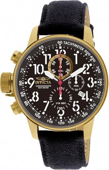 Relógio Invicta I Force 1515 Masculino Banhado Ouro 18k