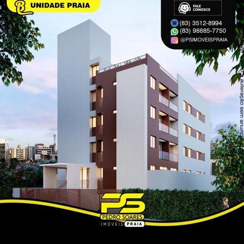 Apartamento Com 2 Dormitórios À Venda, 50 M² Por R$ 249.500 - Jardim Oceania - João Pessoa/pb - Ap4892