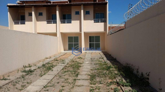 Casa Com 2 Dormitórios À Venda, 74 M² Por R$ 135.000,00 - Messejana - Fortaleza/ce - Ca0452