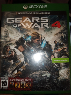 Gears Of War 4 Xbox One Fisico