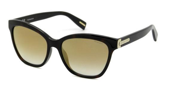 Óculos Victor Hugo Sh1741 Col.1ayg 55 - Lente 55mm