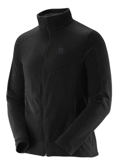 Campera Salomon Polar Lt Full Zip Hombre