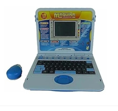 Computador Portátil Didáctico De Juguete Con Lápiz Y Mouse