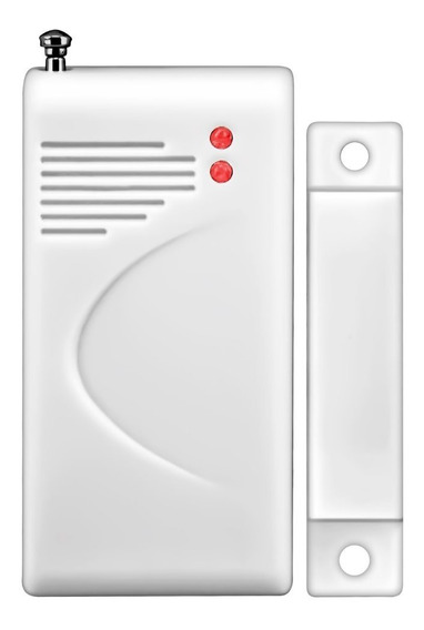 6 Sensor Magnético Porta Janela Sem Fio Longo Alcance 433mhz