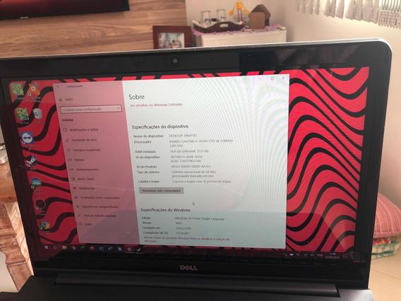 Notebook Dell Inspiron 15 Polegadas