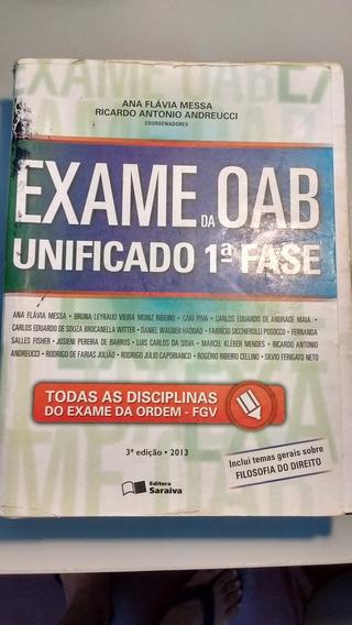 Exame Da Oab Unificado 1ª Fase