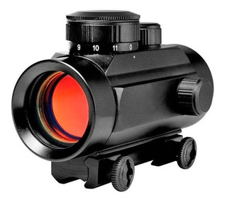 Mira Red Dot Para Carabina Airsoft Trilho 11mm - Cbc