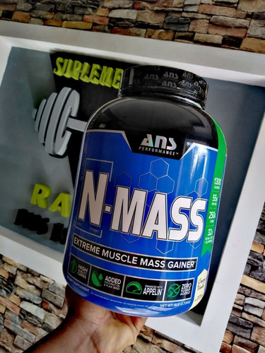 N-mass 6 Lbs Para Aumento De Masa Muscular Suplementos Rans