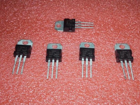 10x L7808cv - Transistor (10 Peças)