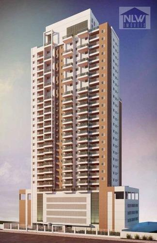 Apartamento À Venda, 48 M² Por R$ 591.179,61 - José Menino - Santos/sp - Ap0662