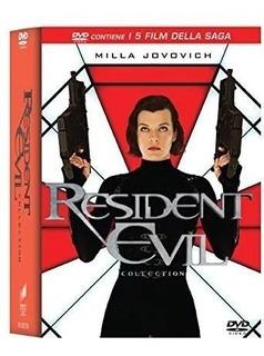 Resident Evil La Colección 5 Dvd Nueva Original Cerrada