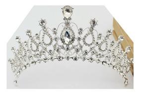 Coroa 15 Anos Princesa Tiara Miss Noiva Casamento Linda D+ 2