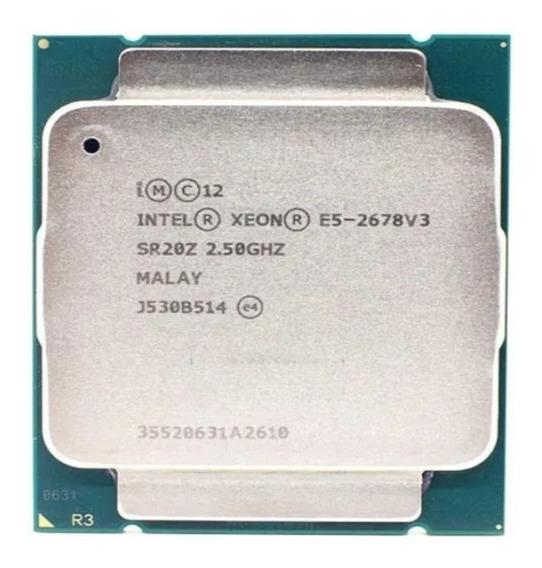 Processador Intel Xeon E5-2678 V3 12 Núcleos Pronta Entrega