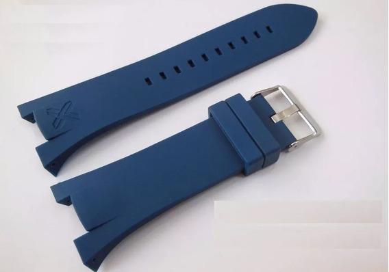 Pulseira Armani Azul Ax1040 Ax1042 Ax1050 Frete Gratis