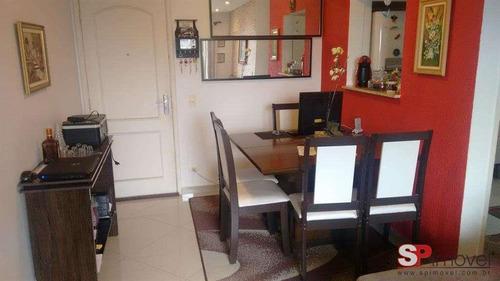 Imagem 1 de 16 de Apartamento Com 2 Dormitórios À Venda, 62 M² Por R$ 350.000 - Chácara Do Encosto - São Paulo/sp - Ap4050v
