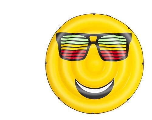 Imagen 1 de 8 de Inflable Emoti Emoji Emoticon 188 Cm Bestway 43139 Eduacando