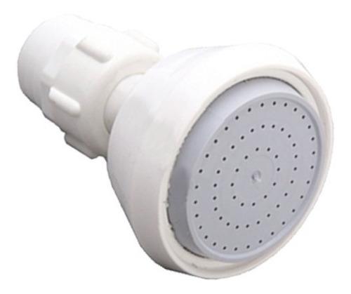 Imagen 1 de 10 de Ducha Blanca C/ Filtro Siroflex Italia 2760/2s Aquaflex