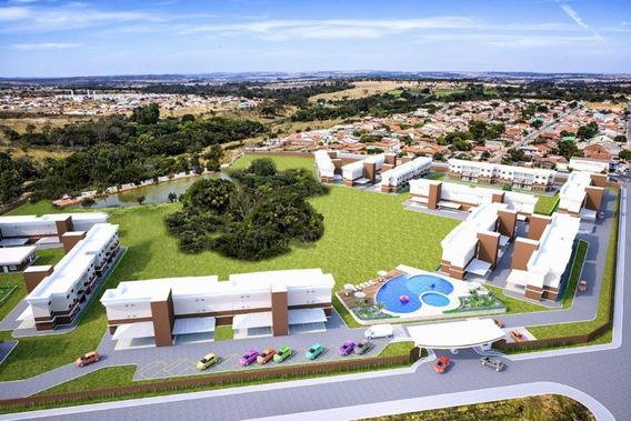 Apartamento Em Residencial Itaipu, Goiânia/go De 84m² 3 Quartos À Venda Por R$ 263.000,00 - Ap248725