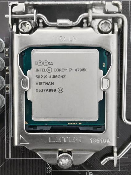 Intel Core I7-4790k + Air Cooler Original