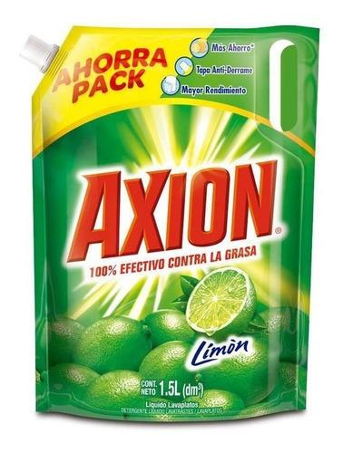 Lavaloza Liquido Axion 1500 Ml Doypack Limon