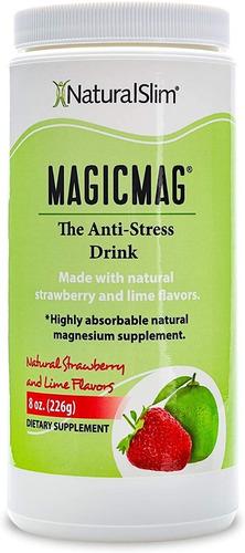 Magicmag Citrato De Magnesio Naturalslim  Polvo 226g (8oz)