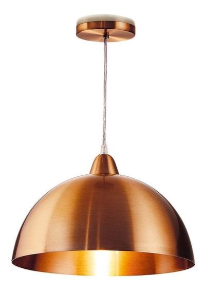 3x Lustre Pendente Cobre Ø37cm - Vrlux 1803 - 1 X E27