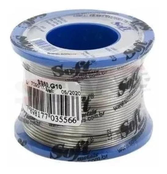 Rolo Carretel Solda 200 Gramas Tri Fluxo 60 X 40 1mm Soft