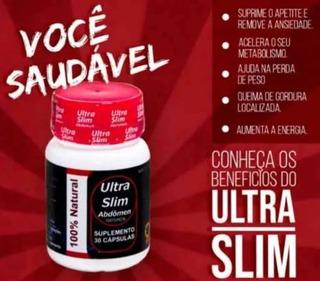 Ultra Slim Abdômen 1 Frasco Com 30 Cápsulas Original