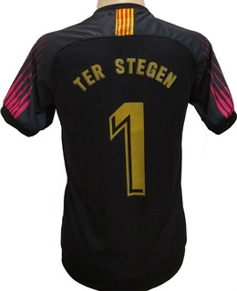 Camisa Do Goleiro Ter Stegen Do Barça 2019/20