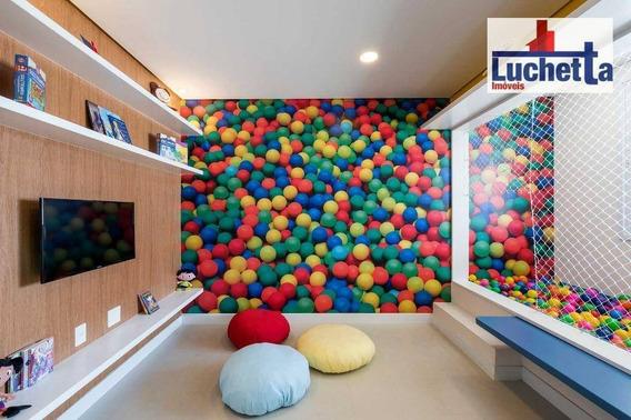 Apartamento Garden Com 1 Dormitório À Venda, 58 M² Por R$ 590.000 - Chácara Santo Antônio - São Paulo/sp - Gd0001