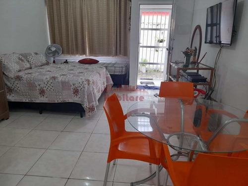 Imagem 1 de 19 de Kitnet Com 1 Dorm, Canto Do Forte, Praia Grande - R$ 130 Mil, Cod: 662632 - V662632
