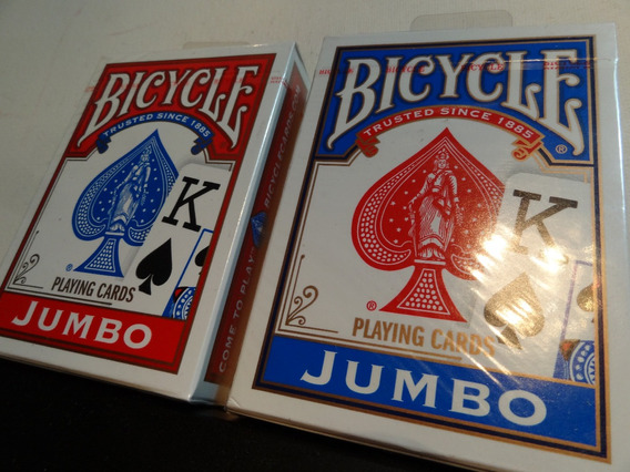 Cartas Barajas Poker Bycicle Original Jumbo Nuevas Selladas
