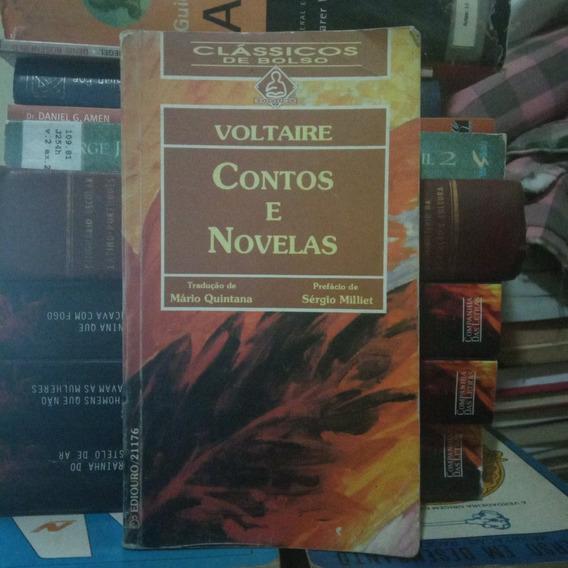 Contos E Novelas Voltaire Ediouro Bom Estado - A Saber
